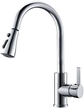 Best selling parts single handle crown kitchen faucet pull for Best selling kitchen faucet