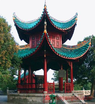 China Glazed Roofing Materials Protect Your House From