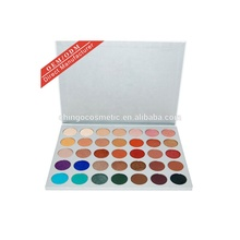 OEM uw eigen 35 kleur make private label eyeshadow palette