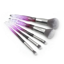 Hot Koop Air Brush Make Up Foundation <span class=keywords><strong>Lichaam</strong></span> <span class=keywords><strong>Poeder</strong></span> Hoek Blush 5 Pcs Makeup Brush Set