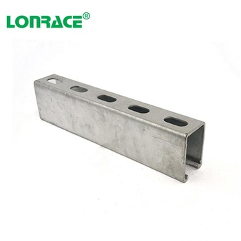 Galvanized Steel Unistrut C Strut Channel For supporting electrical conduits