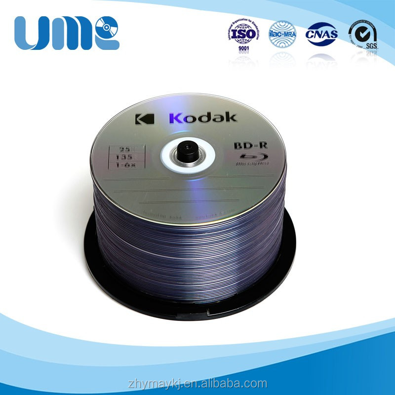 Alibaba stock price and quality 25GB 6X 135min blank bdr dvd packaging replication disk