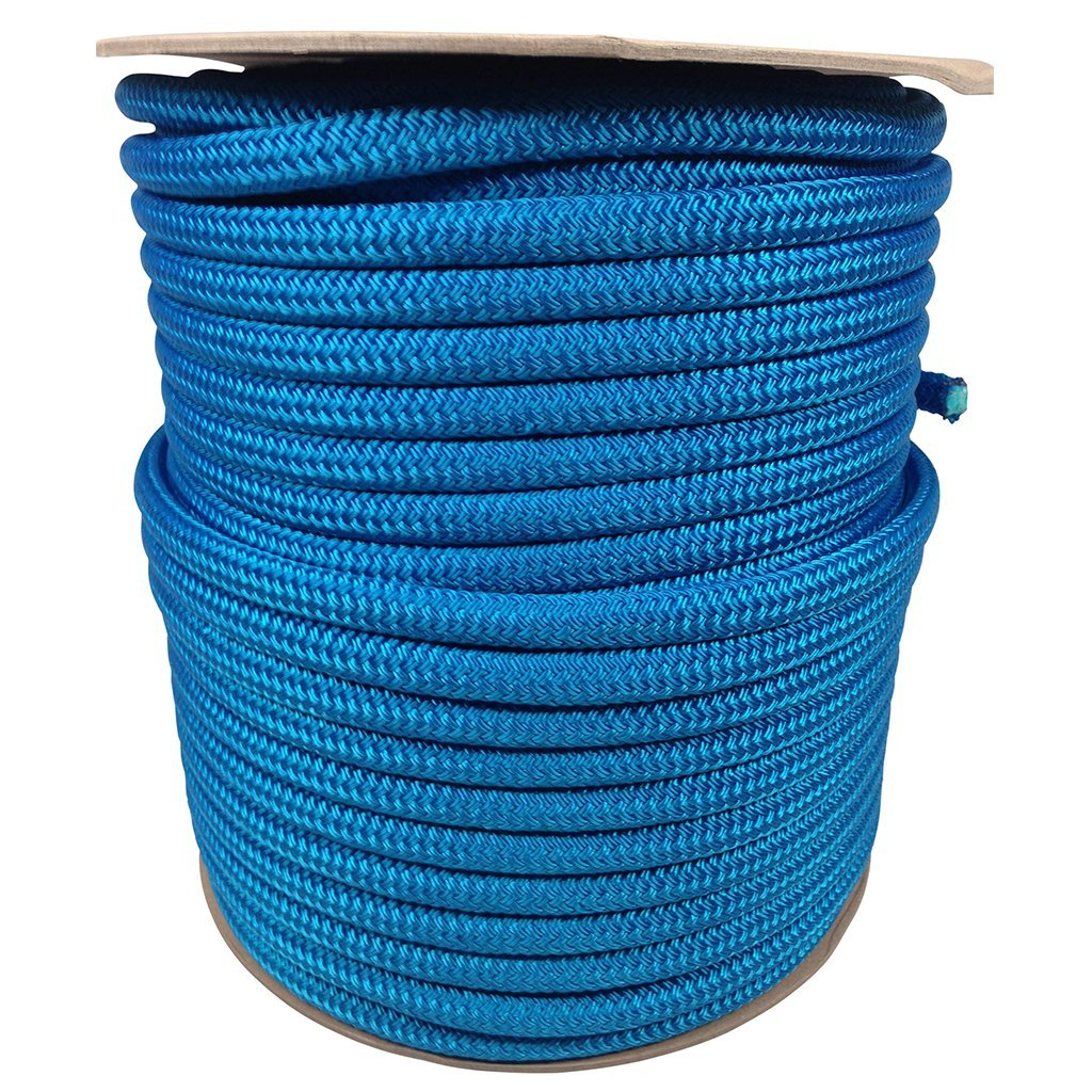 SGT KNOTS Double Braid Polyester Rope 1/2 inch x 25, 50, 100 feet - Several Colors