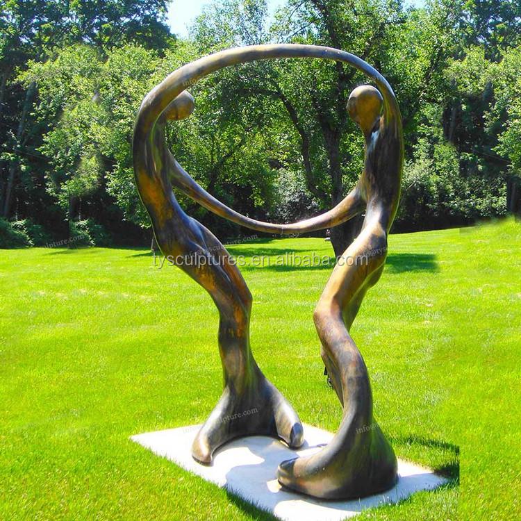 Popular moderna jard n decoraci n arte abstracto escultura for Esculturas en jardines