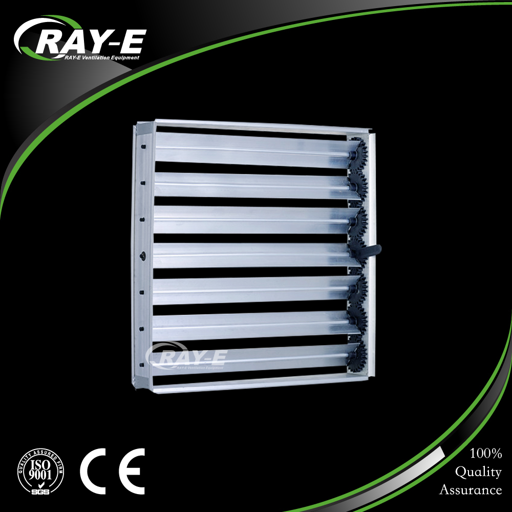 aluminum air conditioning accessories gear air volume control damper for HVAC system