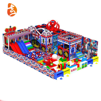 Factory Supply Fast Food Restaurants Small Indoor Children Playground For Sale