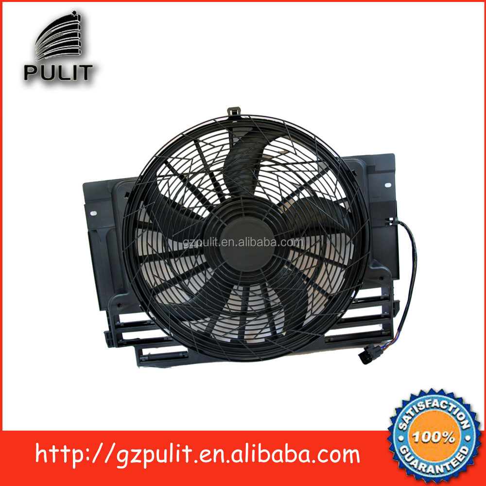 radiator cooling fan and radiator fan assembly and Ac condenser cooling fan for 2002-2006BMW X5 64546921940 64546921381