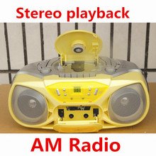 Portable Audio free shipping 2014 new hot Inventory portable CD player player prenatal machine tape recorder tape recorders