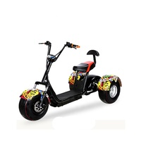 TRUMKI manufacture three wheels big tire trike atv adult tricycle 3 wheel electric scooter