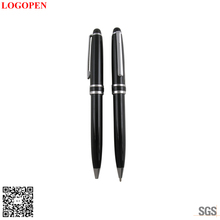 New design high quality business gift with customized logo mini flat pen price is friendly for start long term business