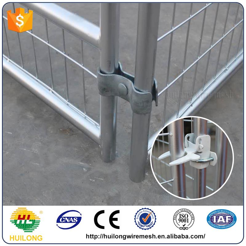 Wholesale Galvanized Comfortable Wire Dog Kennels For Flamingo Black Color ISO certificte