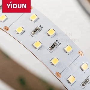wholesale high CRI DC24V SMD2835 chip Double row LED flexible strip light 168 led 30w