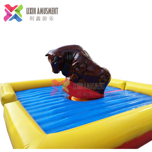 Children Attractions Amusement Park Rides Mechanical Rodeo Bull Price for Sale