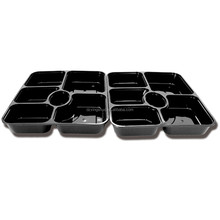 compartment microwave disposable food container lunch tray