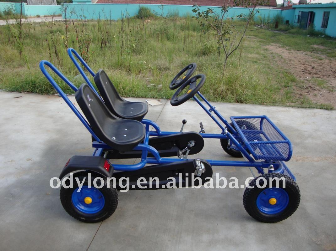 Dual Person Go Kart Pedal 4 Wheel Bike Buy Dual Person Go Kart