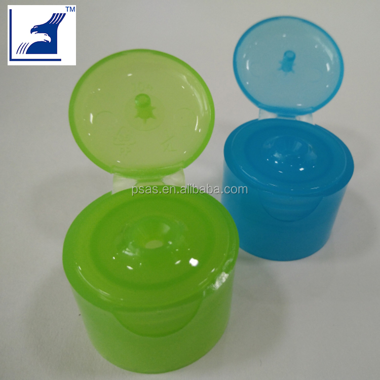 24mm plastic flip top screw cap PP lid
