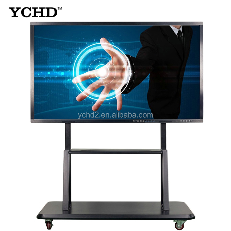 """Size 98"""" touch screen meeting all in one pc for business conference"""