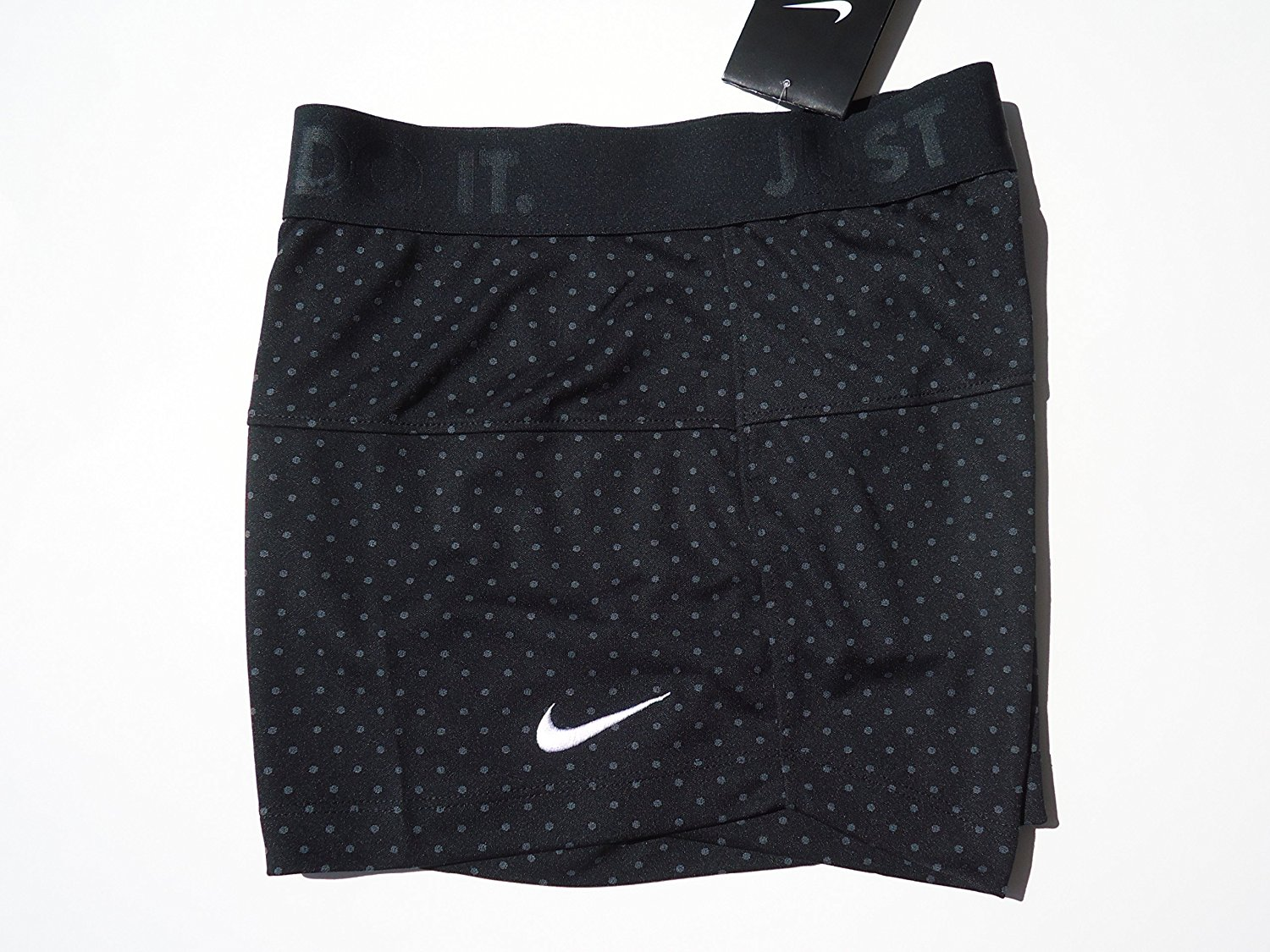 Nike Women s DRI-FIT Shorts Black  JUST DO IT 8e191f97ab