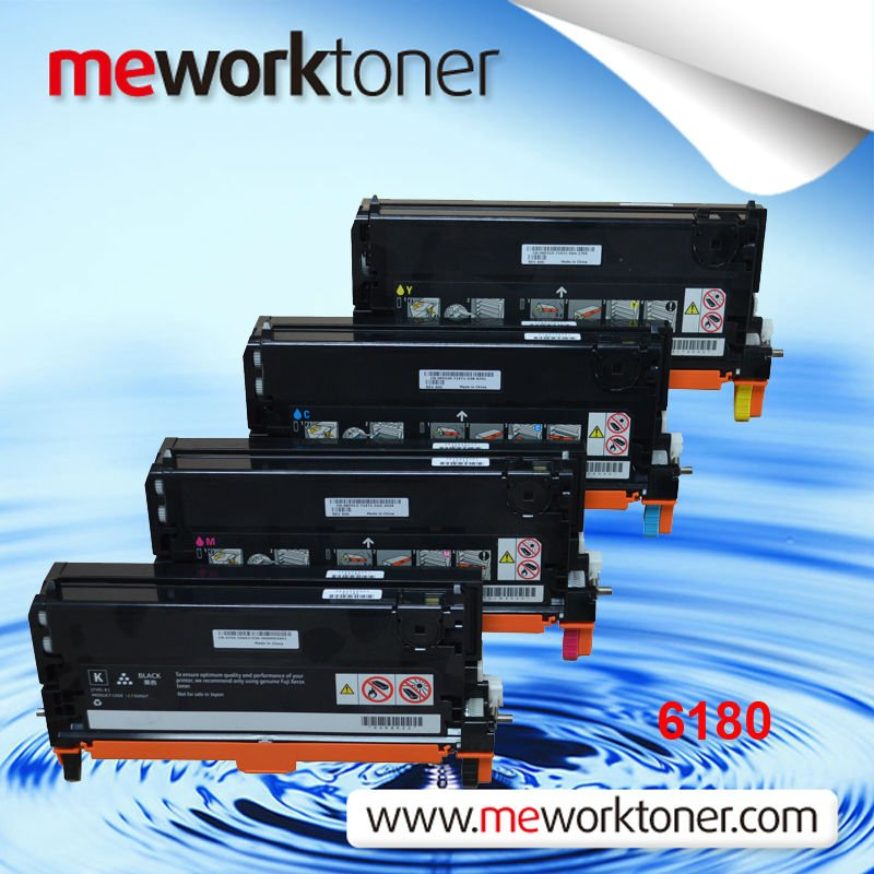 Color toner cartridges for Xerox 6180/2100/8160