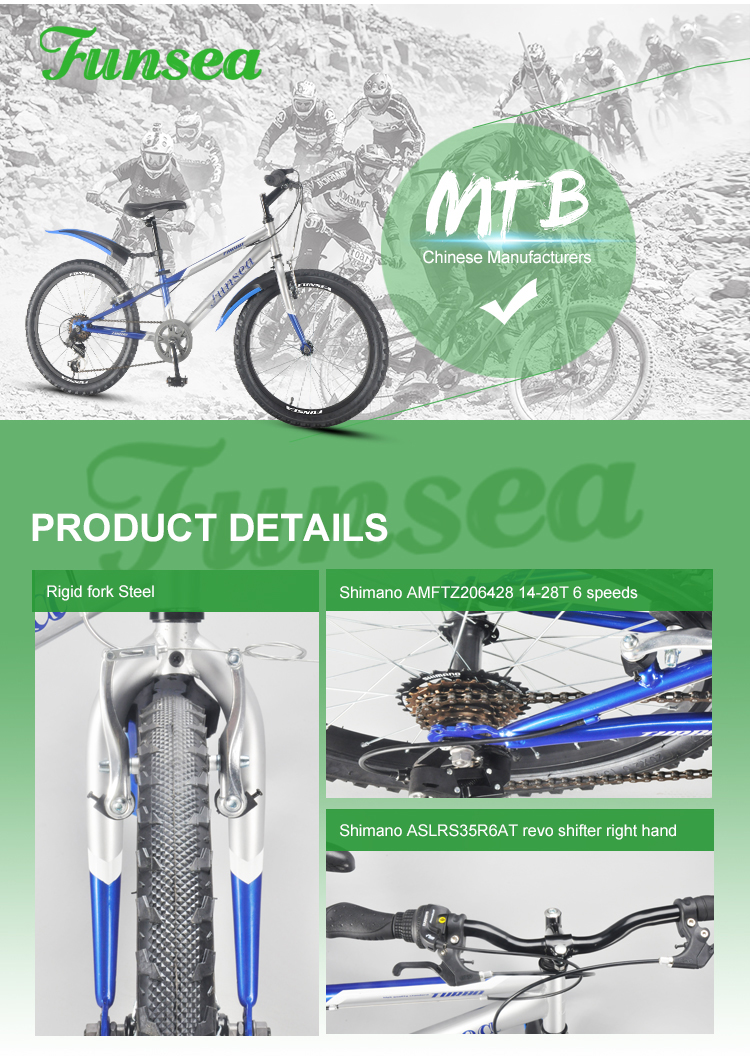 "China manufacturer 20""*2.125"" tyre steel MTB 20"" x 6 speeds best brands downhill bicycle mountain bike bicicletas for women men"