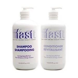 NISIM F.A.S.T. FAST Shampoo for Fast Hair Growth Shampoo & Conditioner 33 oz each