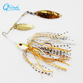 Qiiwi 1PCS Fishing Hard Spinner Lure Spinnerbait Pike Bass 18g 0 63oz Fishing Lures Fresh Water