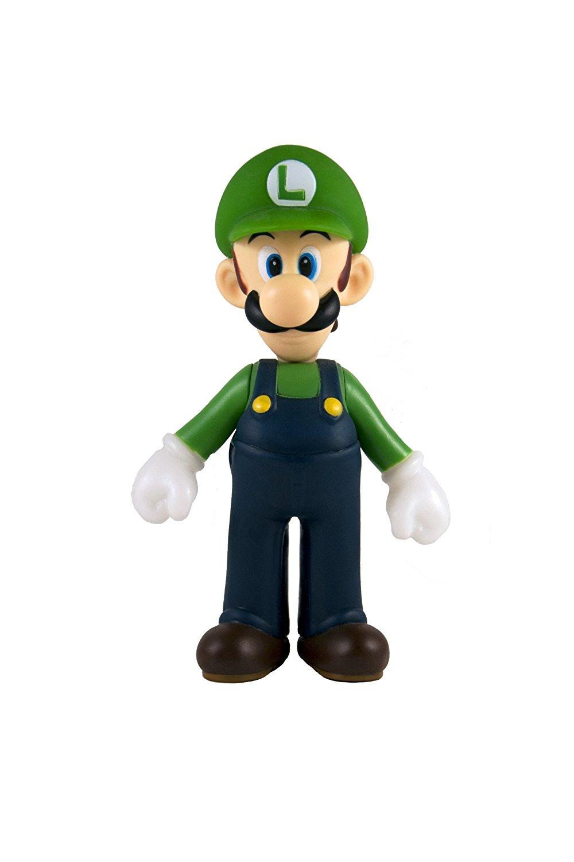 """Nintendo Super Mario Classic 5"""" Collectible Vinyl Figure - Luigi Mulit"""