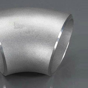QA Chinese Products Full Sizes Customizable 321 Seamless Stainless Steel Pipe Fitting 45 Degree Elbow