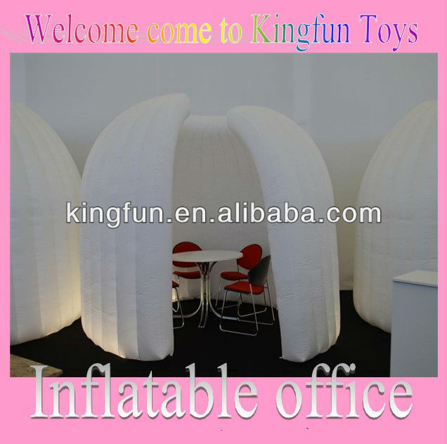 Air dome inflatable office room for negotiate