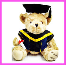 Trade Assurance New plush graduation teddy bear toy
