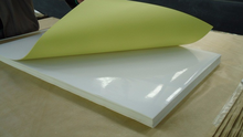 Adhesive Glossy sticker paper for roll printing