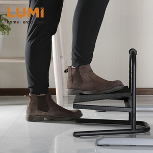 Free-Standing Adjustable Footrest,Steel Office Footrest