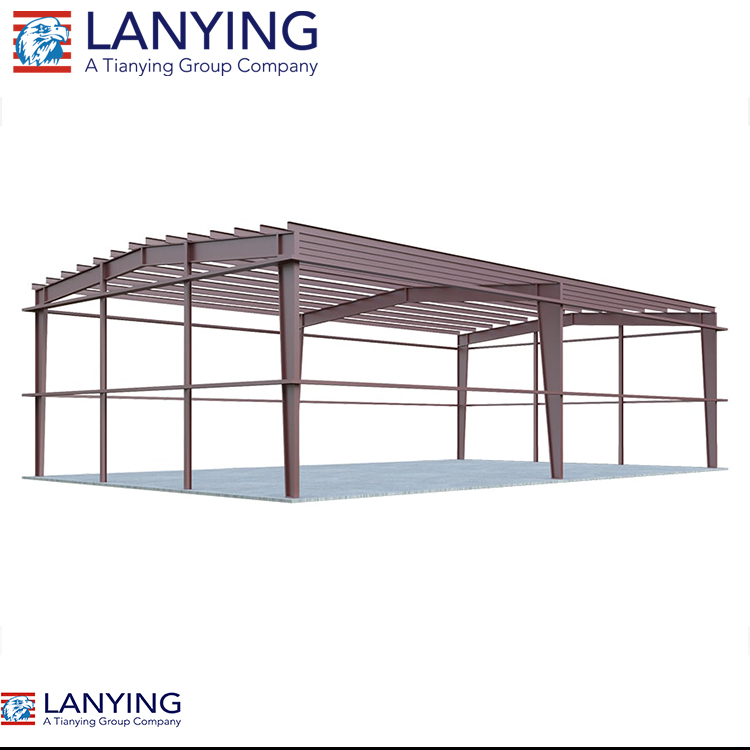 economic prefabricated plant fabricated steel structure factory