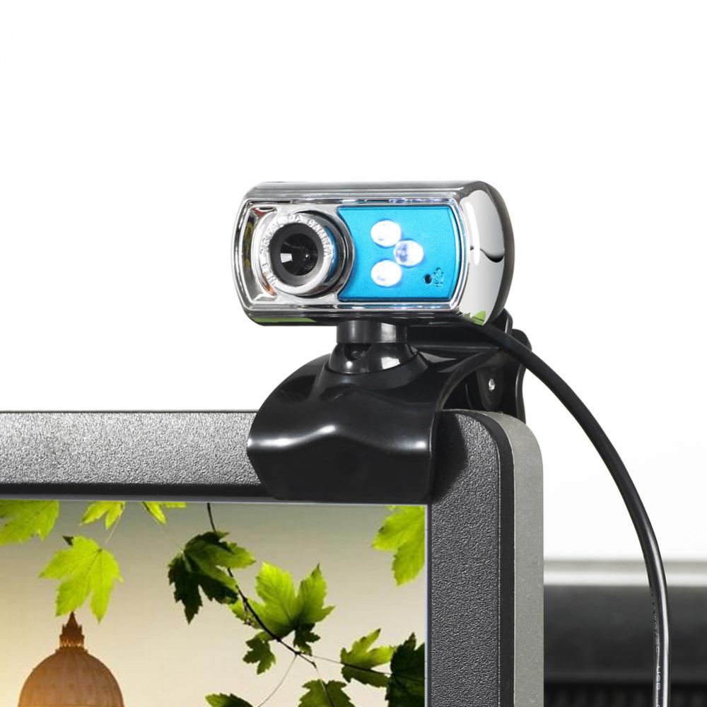 usb webcam hd web camera 12m chip and lens clarity 3 led usb webcam camera with mic night. Black Bedroom Furniture Sets. Home Design Ideas