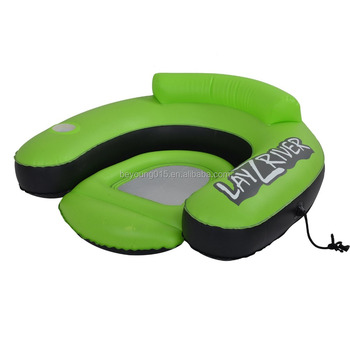 Durable 1 Person Inflatable Pool Lounge Float Swimming