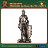Great war collection resin crusader knight figurine