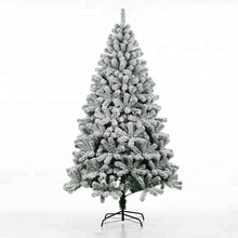 Wholesale Artificial PVC White Christmas Tree With Metal Stand Holiday Season Indoor Outdoor