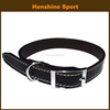 2016 new pet designs wholesale dog leather collar