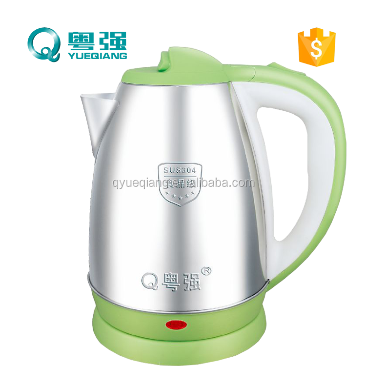 CB CE small home appliance cheap high quality 1.8L fast boil stainless steel electric kettle 1500W cordless 360 degree swivel