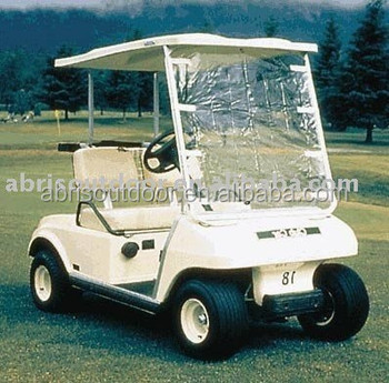Golf club cart waterproof enclosure cover golf car rain cover