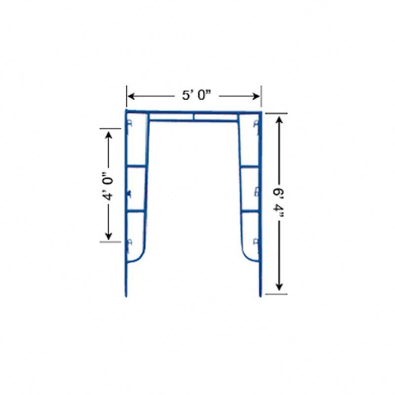 Móvil de acero andamios marco con rueda giratoria para enlucido de ...