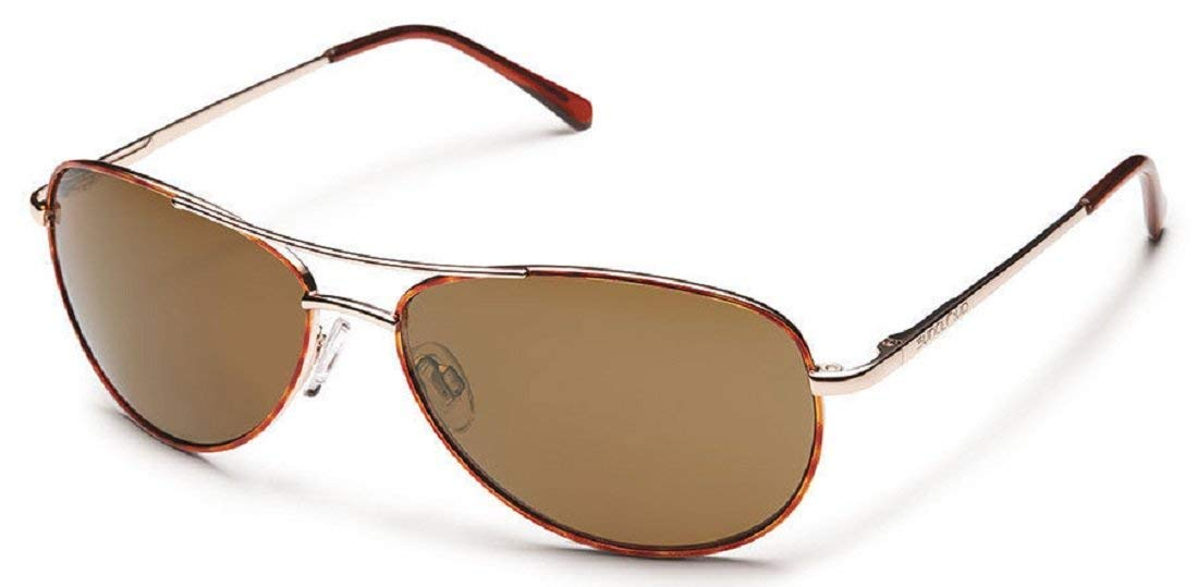 6cac8e2c1a6 Get Quotations · Suncloud Polarized Sunglasses Patrol in Tortoise with  Brown Lens by Suncloud