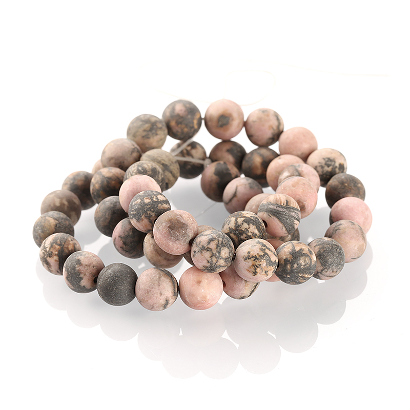 Matte Red Line Jasper,Round Gemstone Beads,High Quality Loose Beads