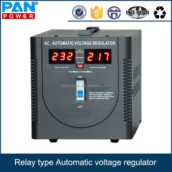 Single Phase Automatic Voltage Regulator(avr) Electronic Type ...