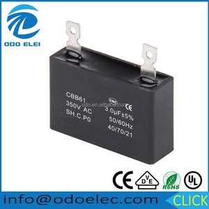 Box Type CBB61 30uf 350v Fan Capacitor 30MFD 350V