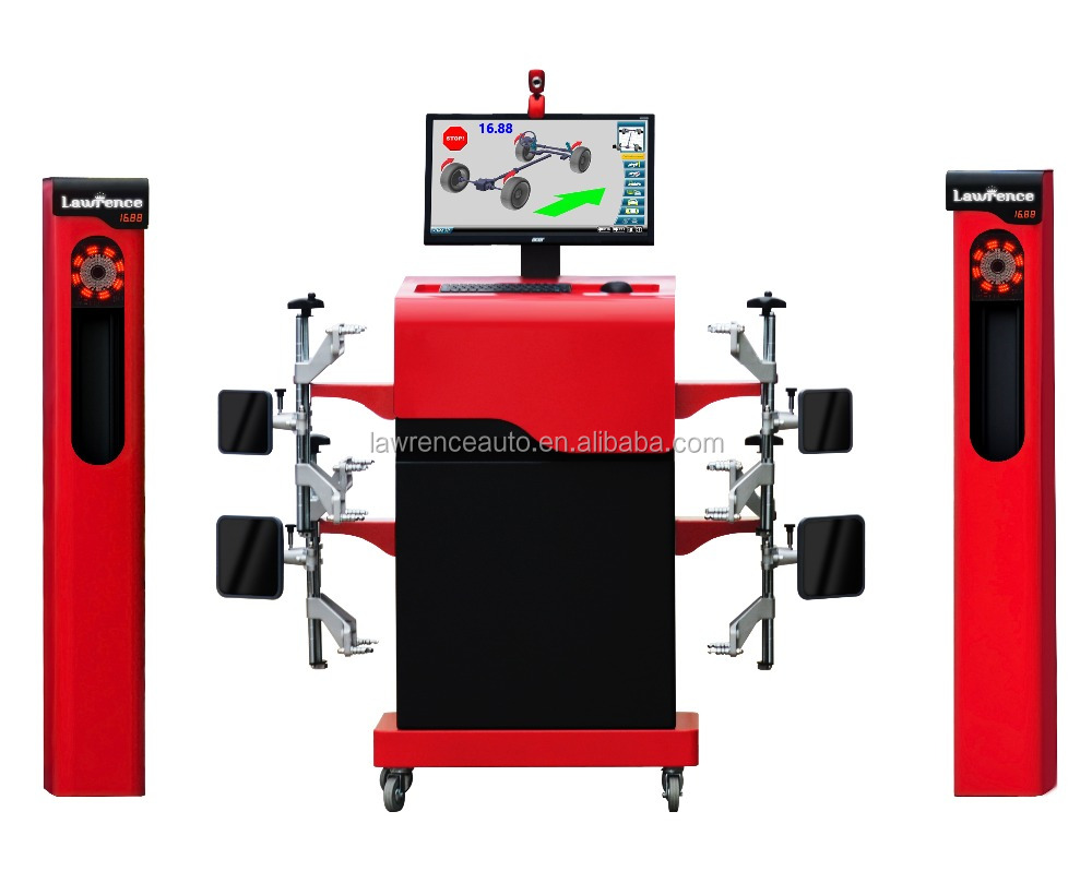 Automatic precise lawrence 3D wheel alignment machine price H6
