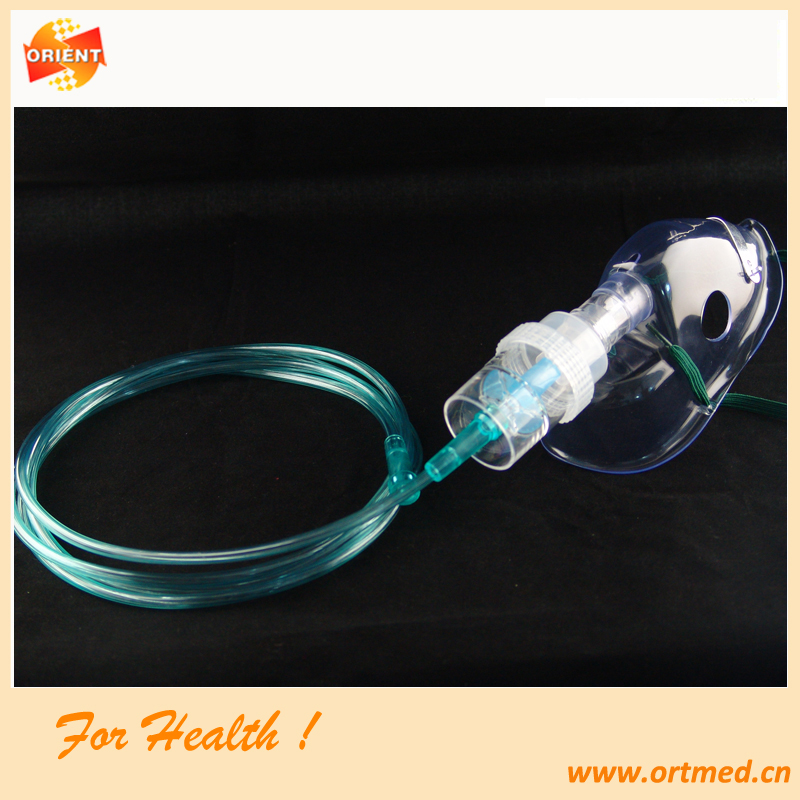 PVC Oxygen Mask with different colours/types