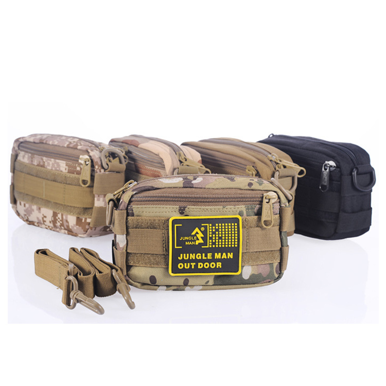 Get Quotations · Outdoor bag lure bag fishing tackle bag multifunctional  waist pack Small Size Military Organizer Camouflage messenger 446f64c1c3788