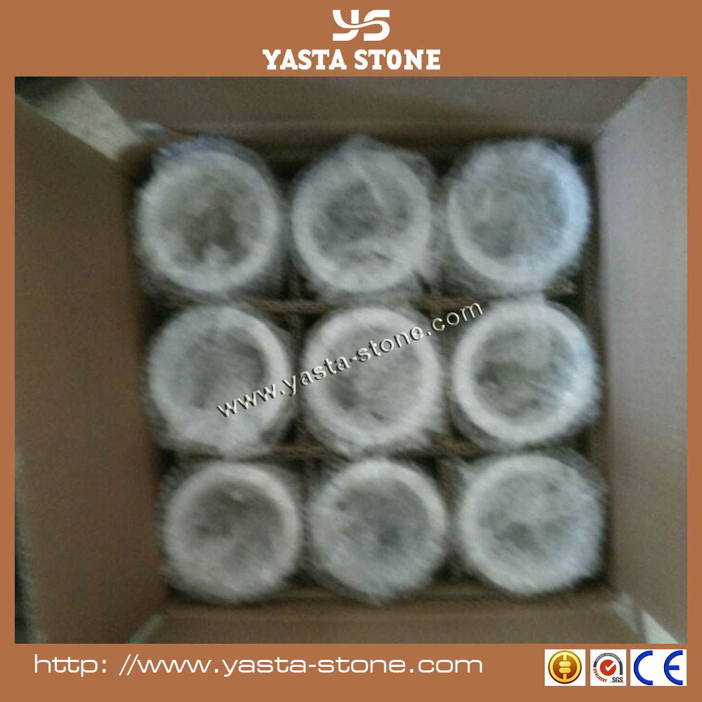 Supply Discount Polished White Stone Candle Jars Natural Marble