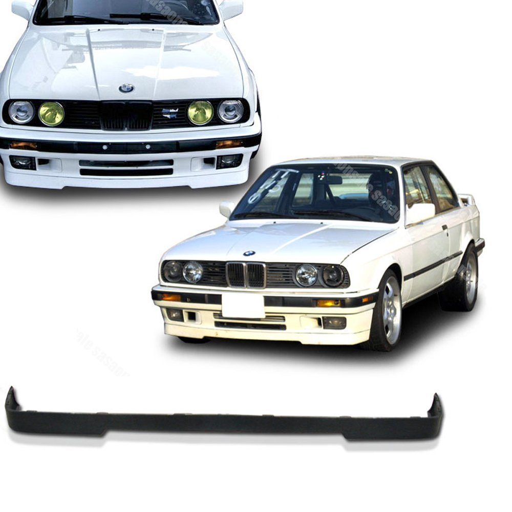 NEW - 1984-1992 BMW E30 3-Series M-TECH Type Front PU Bumper Lip